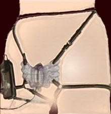 hermosa mariposa vibradora multivelocidades para dama! gdl