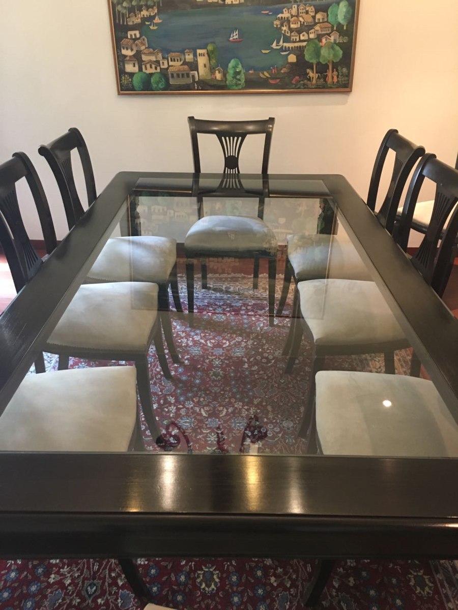Hermosa mesa de comedor sin sillas en for Mesa mas sillas comedor