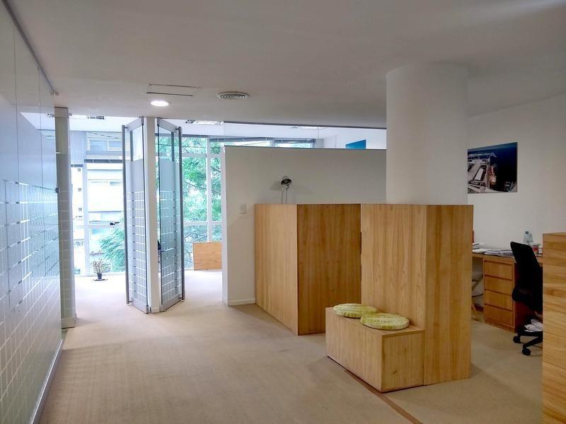 hermosa oficina 95m2 en palermo con cochera