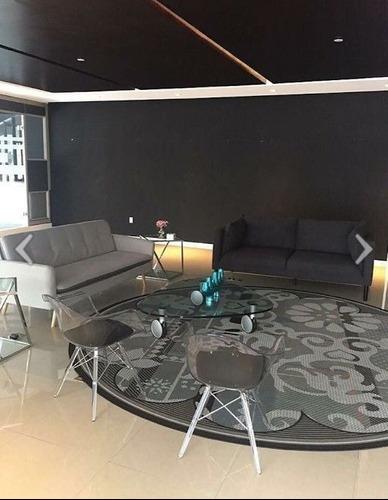 hermosa oficina amueblada de 298 m2 en lomas de santa fe.