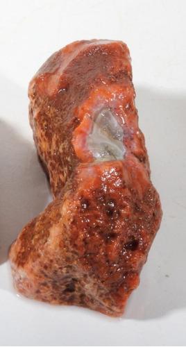 hermosa piedra pulida ágata berber marruecos africa 292 gr