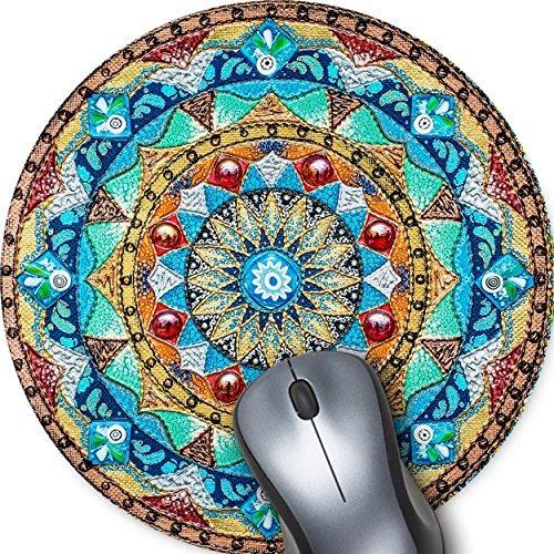 hermosa pintura al óleo estilo acuarela mandala flor fondo