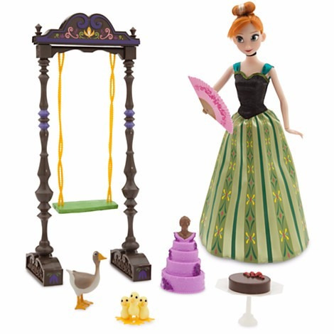 hermosa princesa anna de disney -singing doll- set de lujo