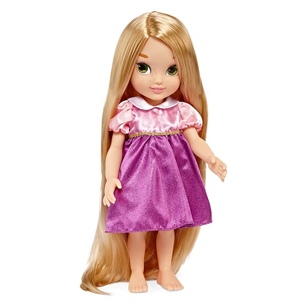 hermosa rapunzel toddler doll disney collection 74000