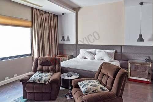 hermosa residencia amueblada, con excelente ubicación  en la del valle.