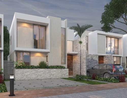 hermosa residencia en privada siara en dzityá modelo laia preventa