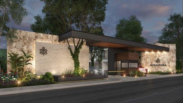 hermosa residencia en privada simaruba, en la zona norte de mérida (modelo b)