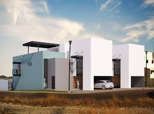 hermosa residencia en venta dentro de cumbres del lago, en 3