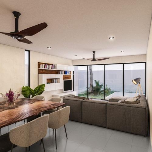 hermosa residencia magnolia home en dzityá preventa