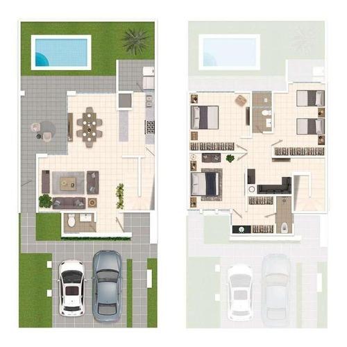 hermosa residencia planicie en altozano