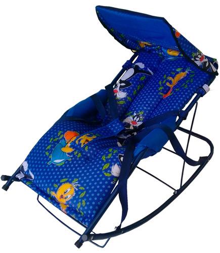 hermosa silla mecedora antireflujo para bebés (art nuevo)