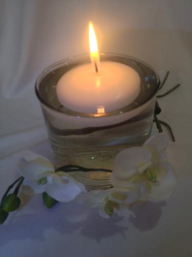 hermosa vela flotante 6cm alta calidad  paq de 10 piezas
