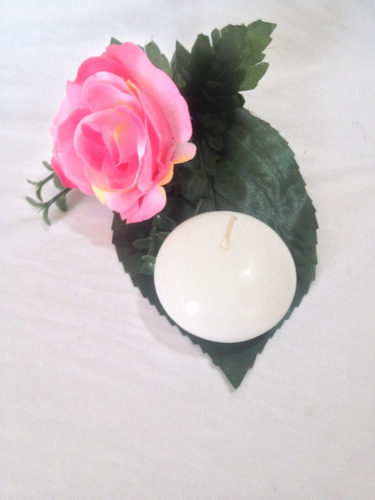 hermosa vela flotante 6cm alta calidad  paq de 30