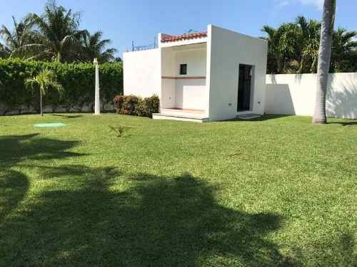 hermosa villa en renta en la zona hotelera de cancún c1719