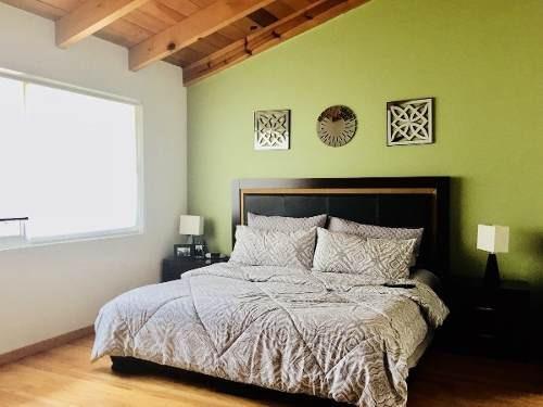hermosa y acogedora casa en prolongación abasolo, fuentes de tepepan, tlalpan