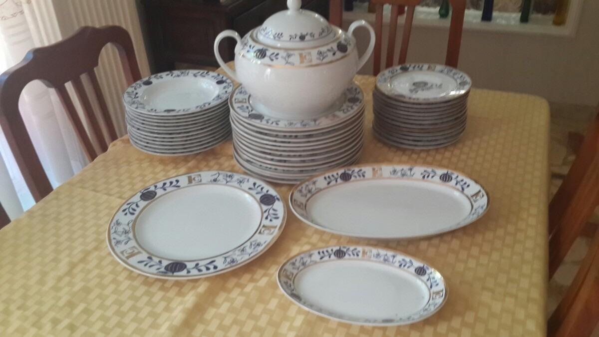 Hermosa y exclusiva vajilla de porcelana italiana bs for Porcelana italiana