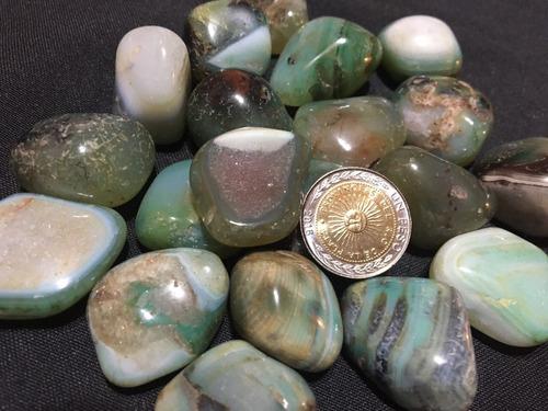 hermosas agatas   piedras  roladas 250 grs hermosas !!