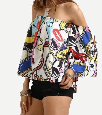 hermosas blusas de verano