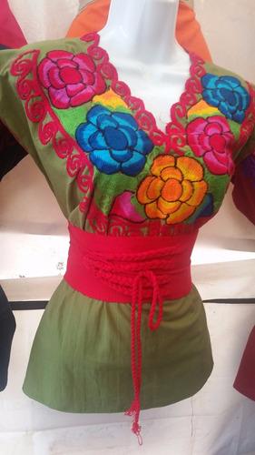 hermosas blusas tipicas de chiapas