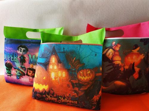 hermosas bolsas para halloween sublimadas
