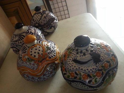 hermosas bomboneras de talavera original