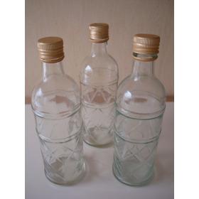 Hermosas Botellas De Vidrio Talladas