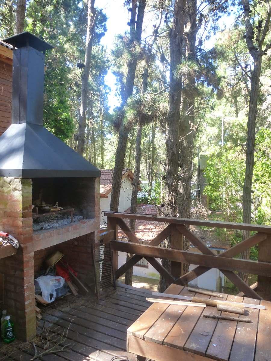 hermosas cabañas en el bosque de mar azul.excelente zona.