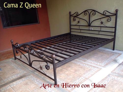 Hermosas camas de hierro forjado 160 en mercado for Cuanto cuesta una cama king size