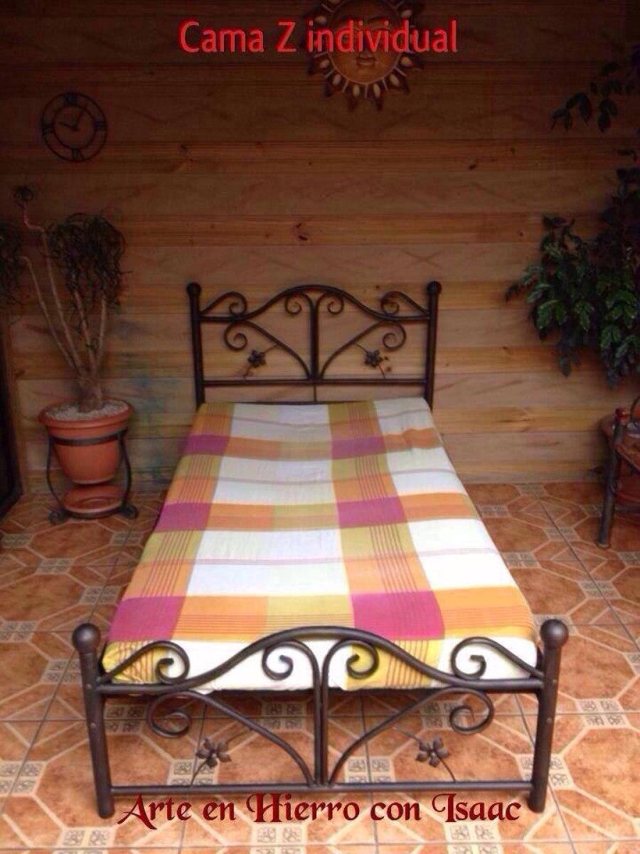 Hermosas camas de hierro forjado 155 en mercado for Camas 2x2 baratas