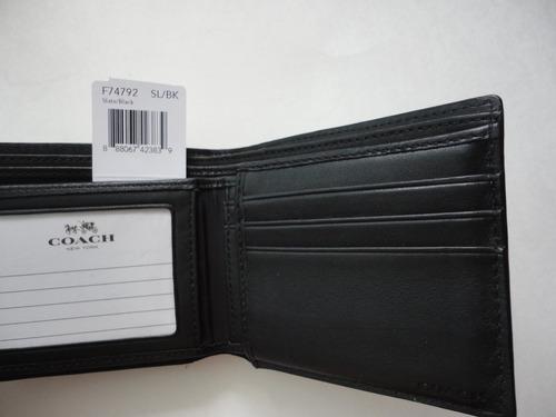 hermosas carteras coach para hombre originales envio gratis