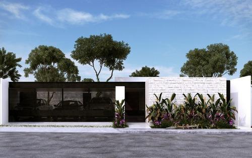 hermosas casas de una planta en venta al norte de mérida, leonora c2 en arteva