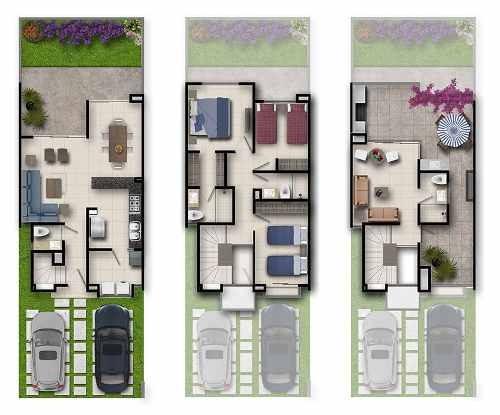 hermosas casas en venta modelo  canvas  ubicadas en  baraka  residencial