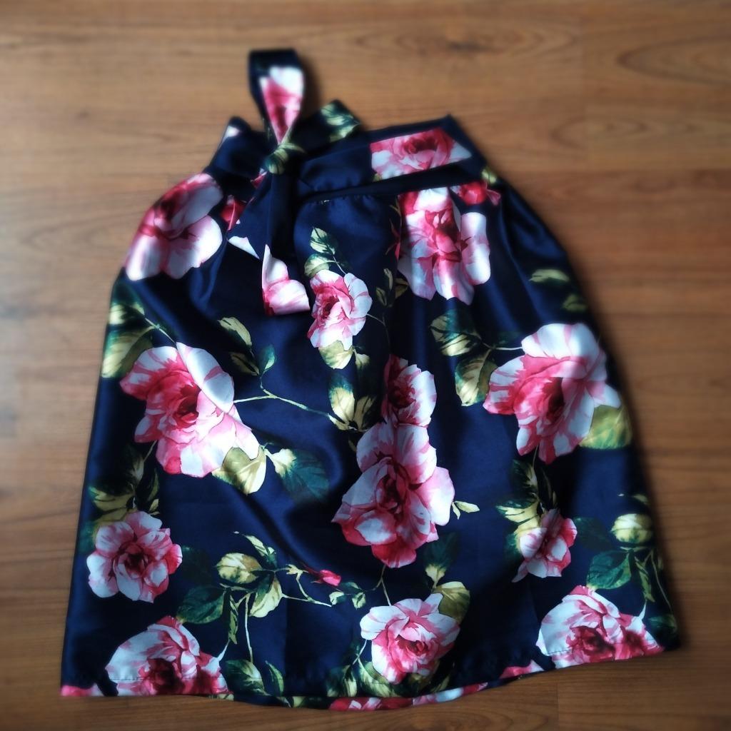 6382e5767 Hermosas Faldas Estampadas En Flores Con Cinturon