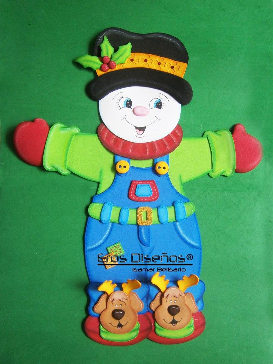 Hermosas figuras de foami navidad bs en - Belenes de navidad manualidades ...