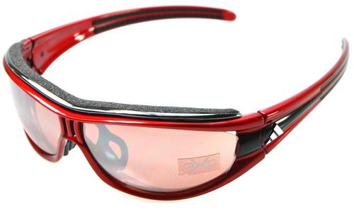 hermosas gafas adidas eyewear evil eye pro race red black