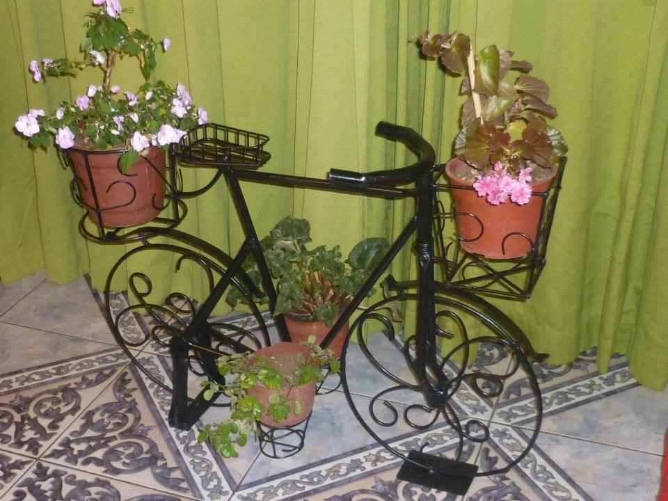 Hermosas jardineras decorativas en fierro en - Jardineras decorativas ...