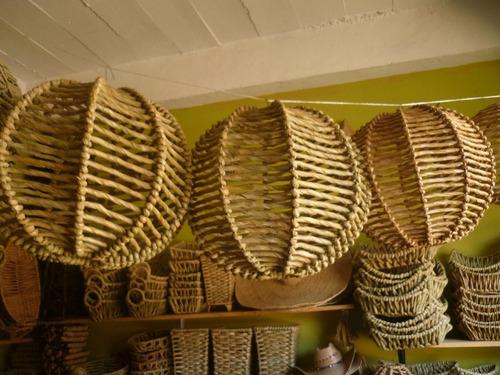 hermosas lamparas artesanales