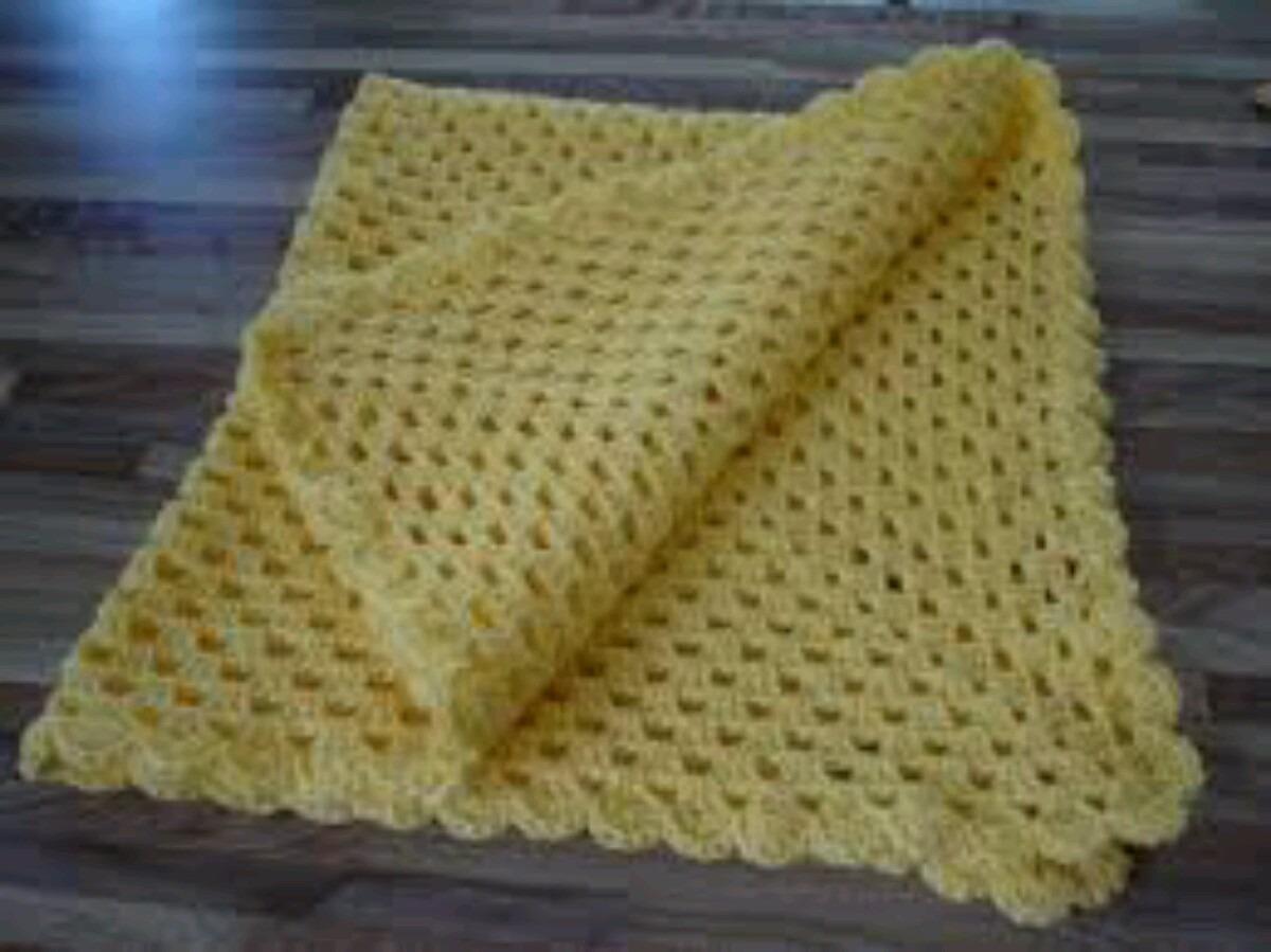Hermosas mantas cobijitas tejidas para bebes bs - Dibujos de ganchillo ...