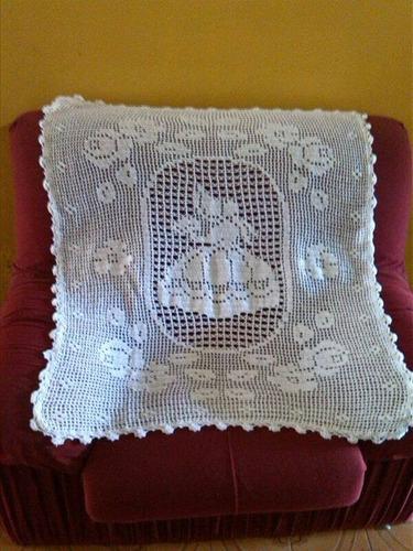 hermosas mantas tejidas en crochet (totalmente a mano)