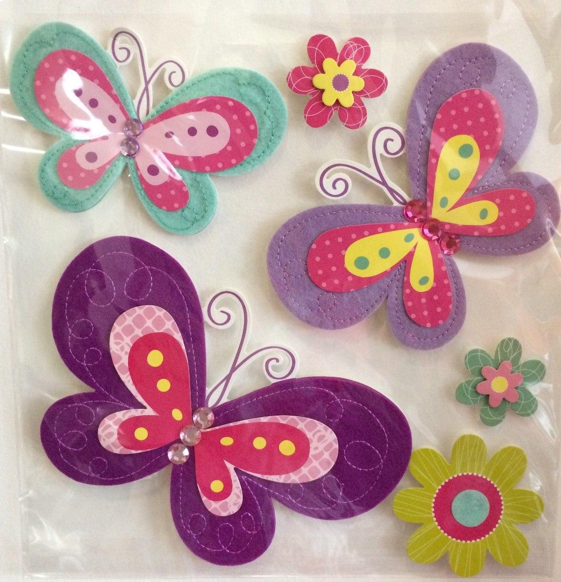 Hermosas Mariposas 3d Para Decorar Habitacion