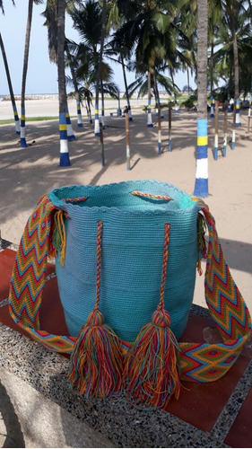 hermosas mochilas wayuu100% originales sin intermediarios