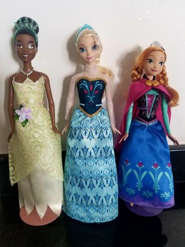 hermosas muñecas barbie originales princesas de disney