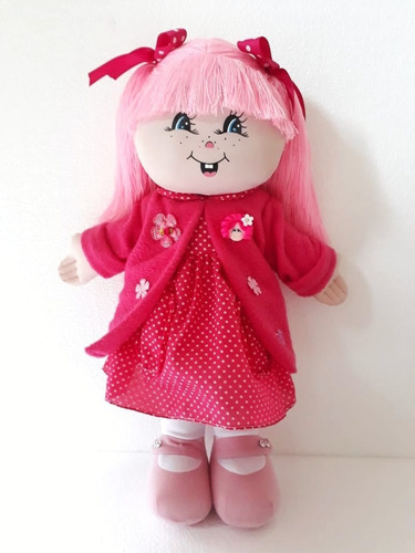 hermosas muñecas de tela 50 cms + envio gratis