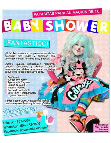 hermosas payasitas para tu baby shower - whatsapp:5571723692