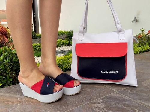 hermosas sandalia plataforma mujer dama calidad colombiana