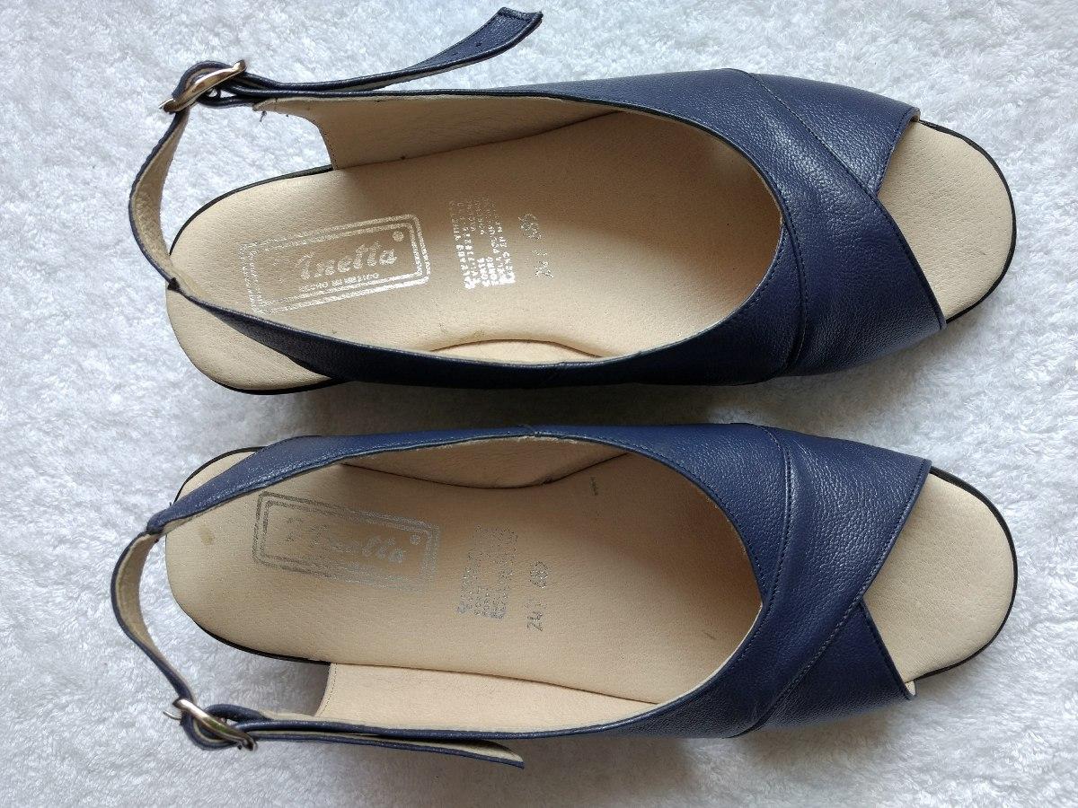 00 Sandalias 5300 Piel De Vinetta Azules 24 Hermosas Tacon Bajito m0ynwvN8OP
