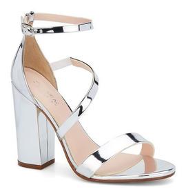 Zapatos Cattini Mujeres Tacon Sandalias Sears Aguja Via De jzpGSMqUVL
