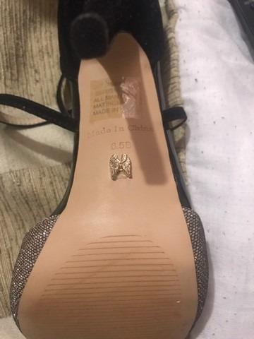 hermosas y sexys zapatillas victoria´s secret en color negro