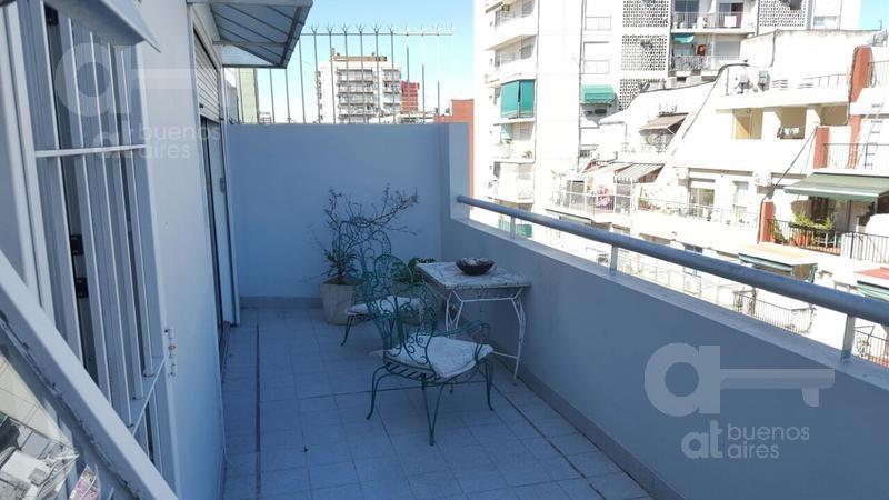 hermoso 2 ambientes! gran balcón!