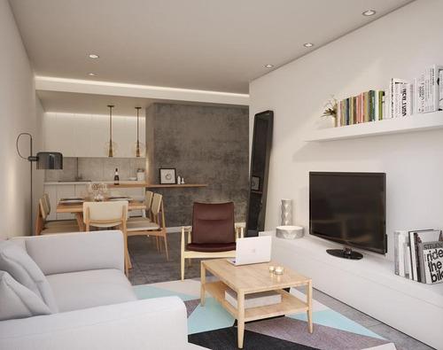 hermoso 3 ambientes en emprendimiento de categoría en flores - en construcción - amenities